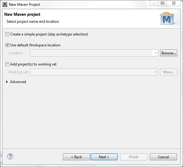 Nuevo proyecto Maven